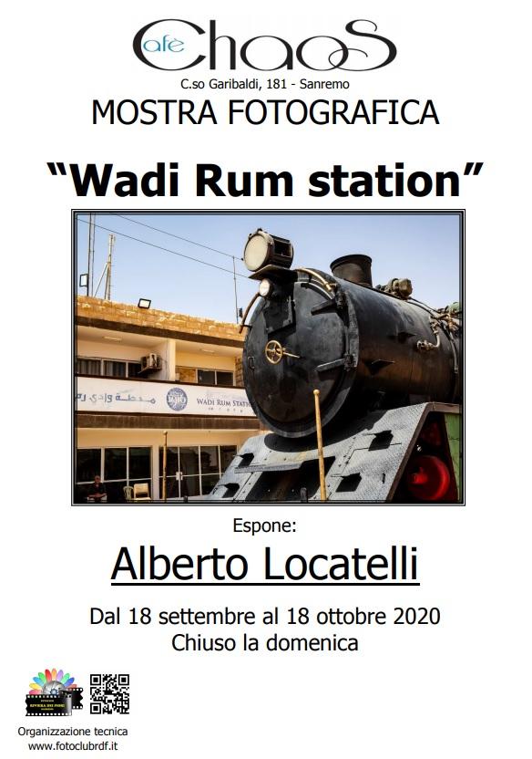 locandina alberto Wadi Rum station